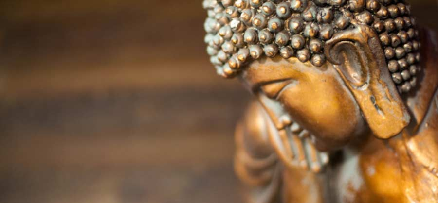 Buddha at our Salon near Crowthorne